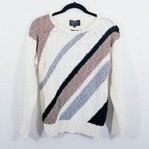 Knitivo Vintage Off White Sweater Size M